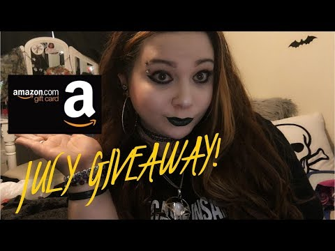 July 2018 GIVEAWAY! *FREE AMAZON GIFT CARD!!!* (CLOSED)