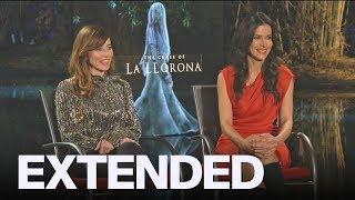 Linda Cardellini, Patricia Velasquez On 'The Curse of La Llorona', 'Dead to Me'