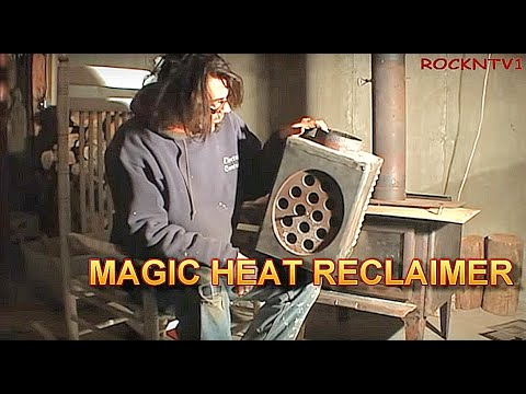 Magic Heat Reclaimer Save oil - DIY Magic Heat Reclaimer Heating Efficiency Tips, Furnace, Stove