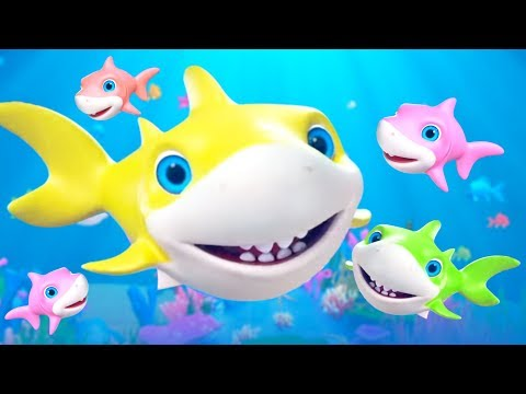 Baby Shark Song + More Nursery Rhymes & Music for Kids | Little Treehouse