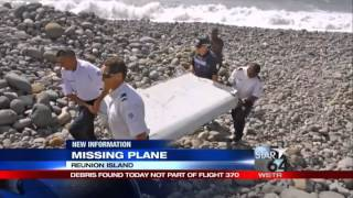 Debris found on island is from same type of aircraft as MH37