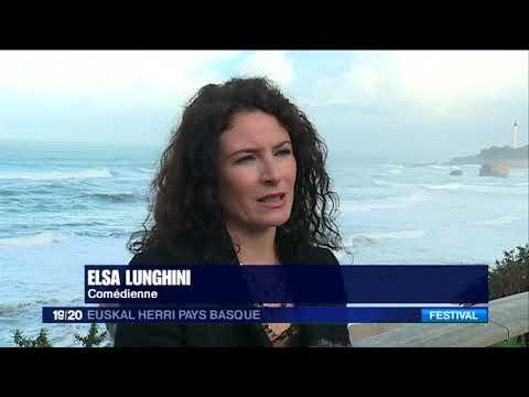 Elsa Lunghini au FIPA de Biarritz