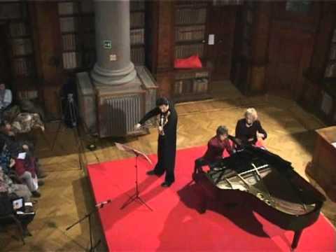 Wolfgang Amadeus Mozart: sonata for piano and violin KV.378 in B flat - 2nd movement