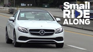 2018 Mercedes-Benz E 400 Coupe - Smail Ride Along - Review and Test Drive