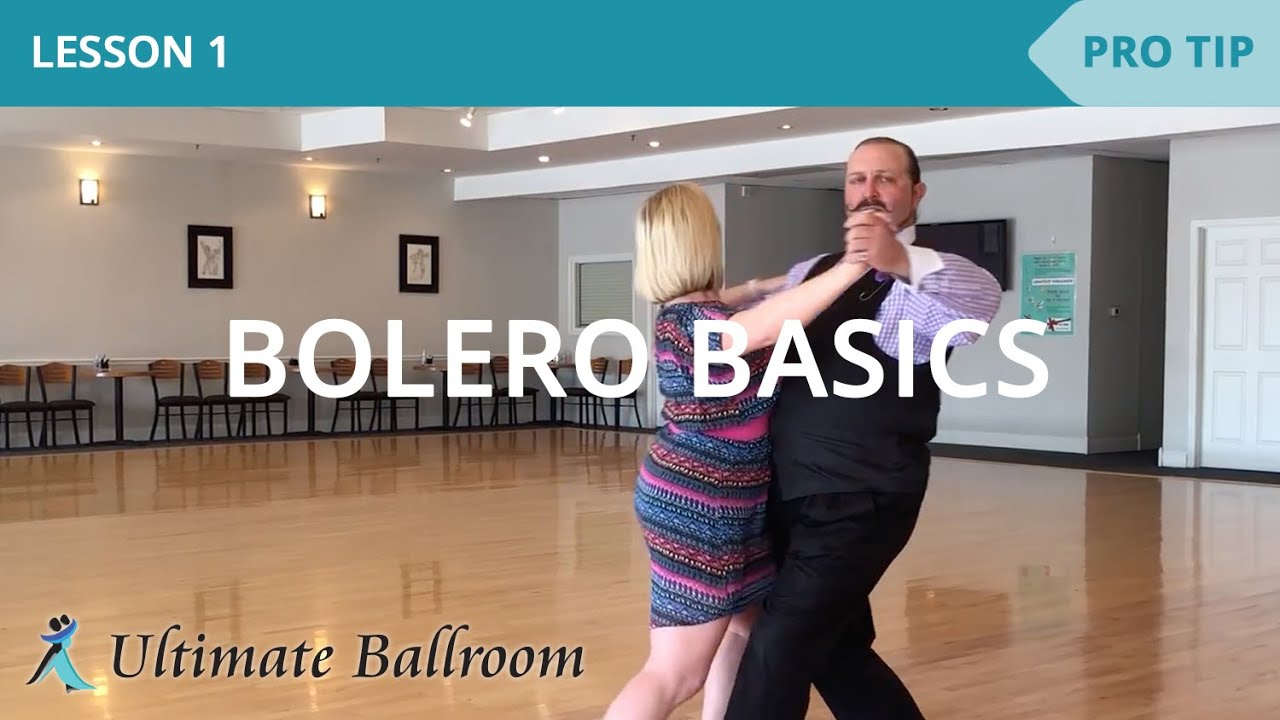 Bolero Basics 1: Ballroom Dance Lesson