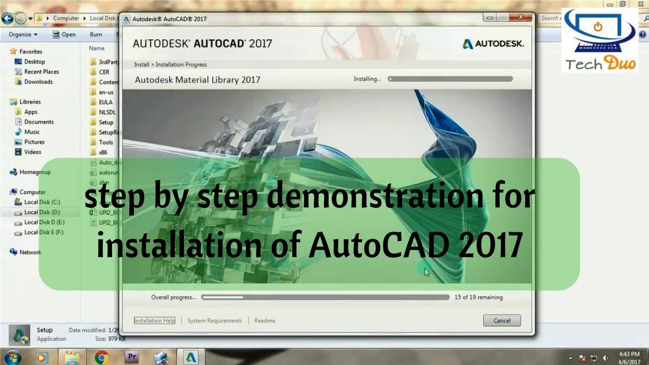 Autodesk Autocad 2017 Installer