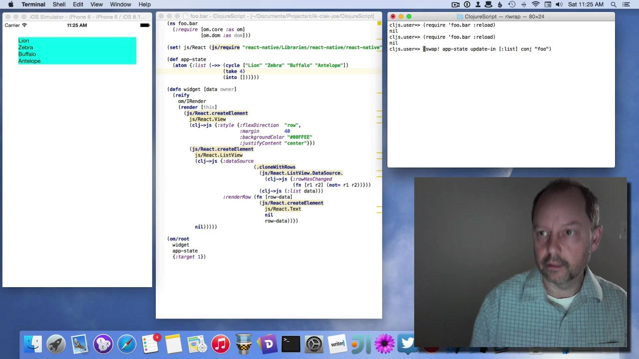 Driving React Native with ClojureScript / Om