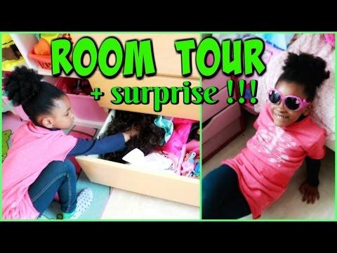 ROOM TOUR /DRESSING TOUR : La Chambre de Mae et une surprise !
