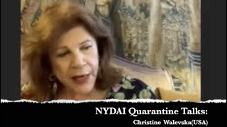NYDAI QUARANTINE TALKS: Christine Walevska(USA)