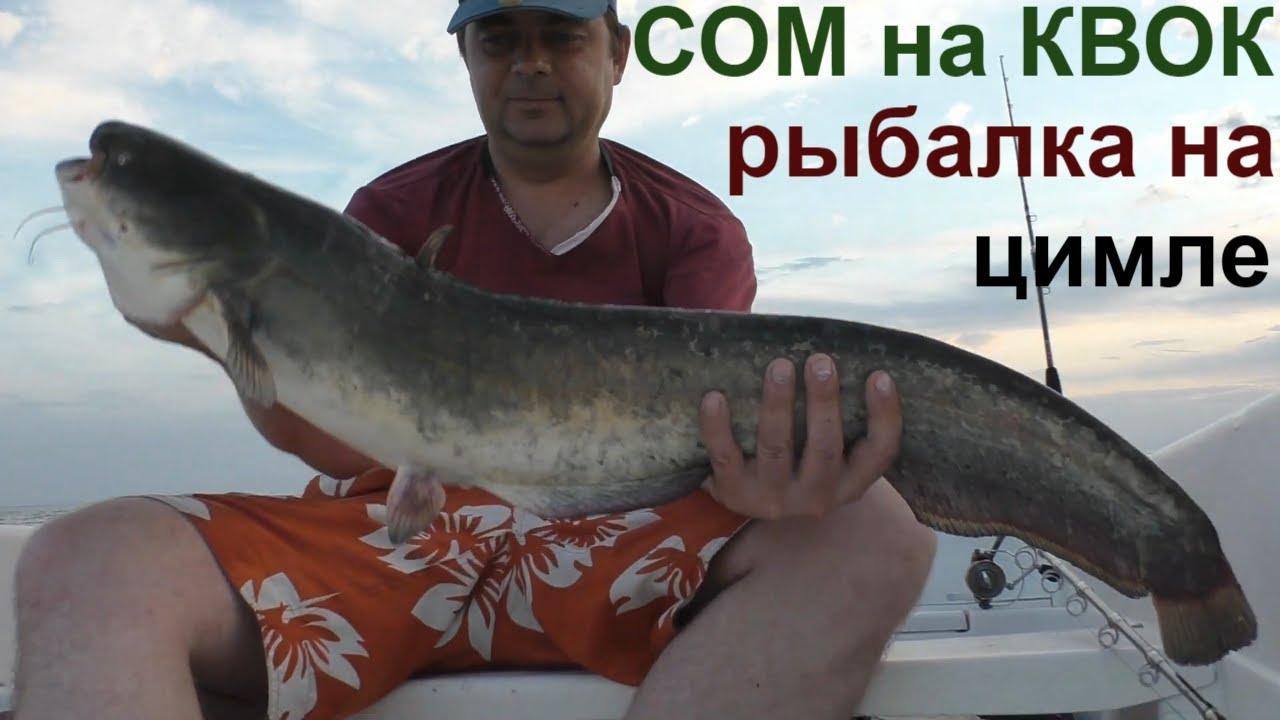 Рыбалка на КВОК ЛОВЛЯ СОМА/Сезон открыт!