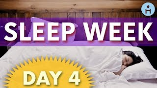 Sleep Week DAY 4: Thursday | Delta Waves and Binaural Beats to Relax, Deep Sleep Music