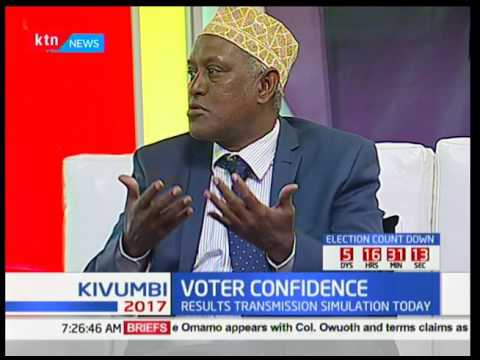 Voter Confidence : The preparedness of the IEBC ahead of the elections