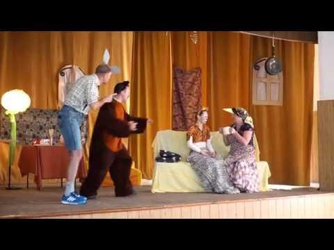 Przedstawienie wystawione przez rodziców z okazji Dnia Dziecka - Dynów 2016