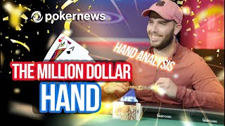 """2021 WSOP - The Last Hand Of The Millionaire Maker """"Now I Am A Millionaire I Guess"""""""