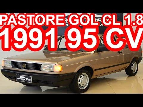 PASTORE Volkswagen Gol CL 1.8 1991 95 cv #Gol