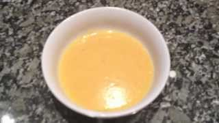 Ginger Butternut Squash Soup - A Healthy Midwinter Recipe From Bakeyourwaykitchen!