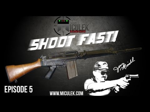 FN FAL review with Jerry Miculek