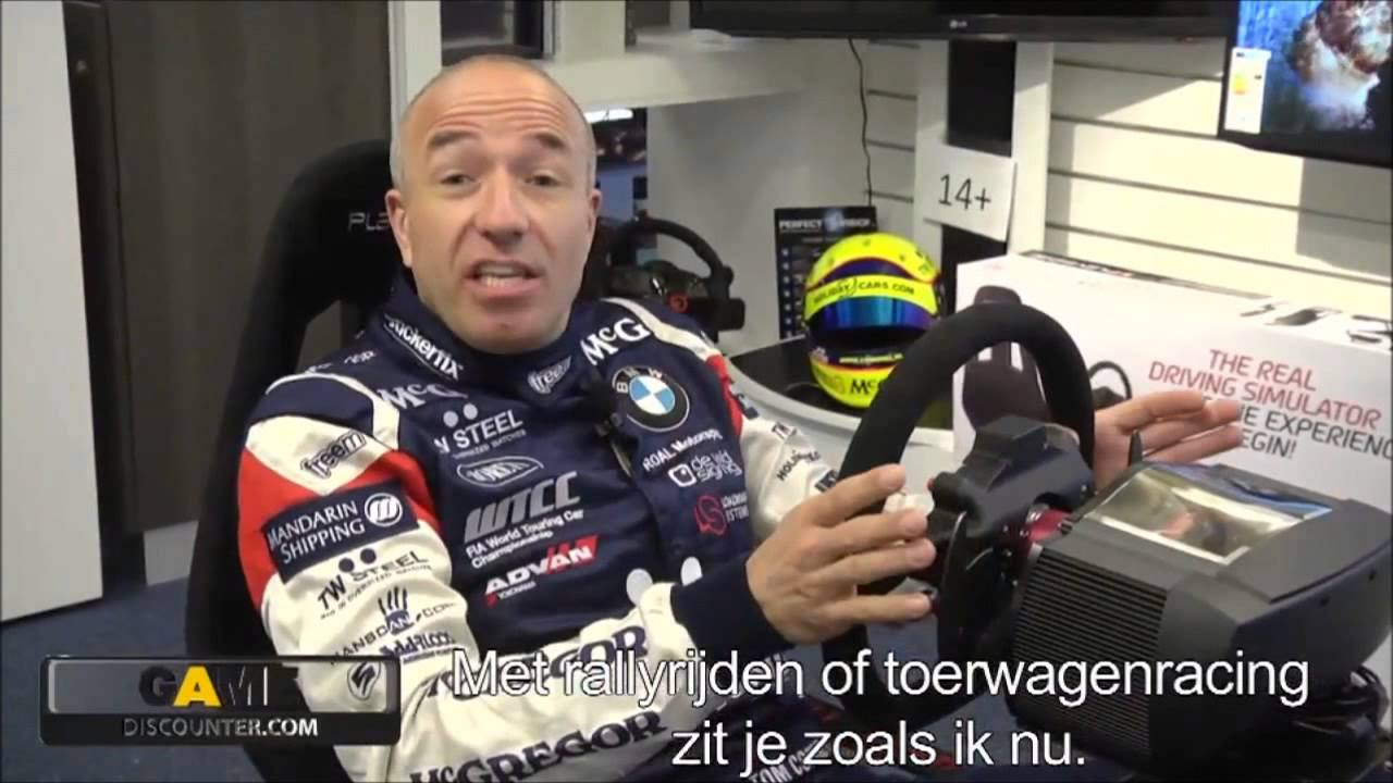 Playseat Challenge Review By Tom Coronel Youtube