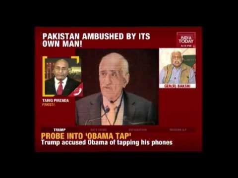 Mehmud Ali Durrani Confesses Pakistan's Role In 26/11 Attack