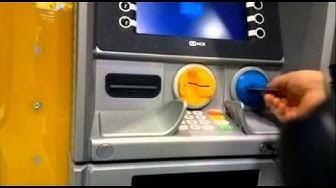 Esteetön Jyväskylä, puhuva pankkiautomaatti