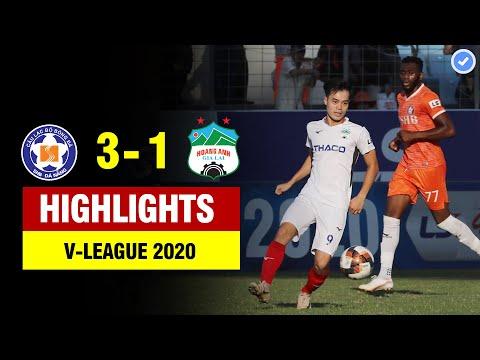 Highlights Đà Nẵng - HAGL | Văn Toàn nhún nhảy qua rừng hậu vệ ghi bàn đẳng cấp thế giới