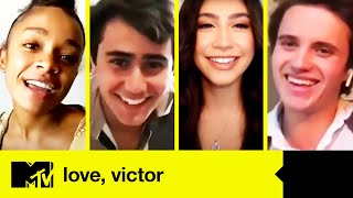 Love, Victor Cast Play High School Charades | MTV Movies
