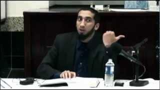 *Funny*Nouman Ali Khan┇Praying in a public place.. LOL