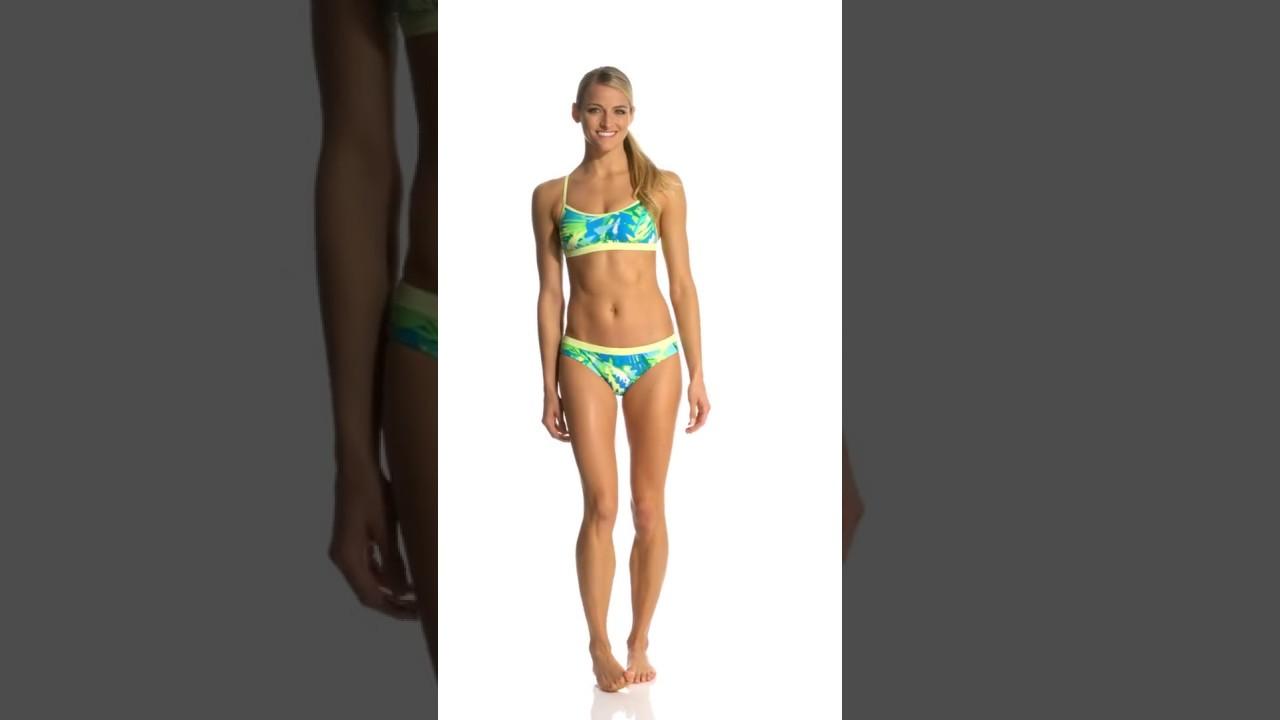 470dd3dfe6ad1 Nike Women s Tropic Crossback Sports Bra Bikini Top
