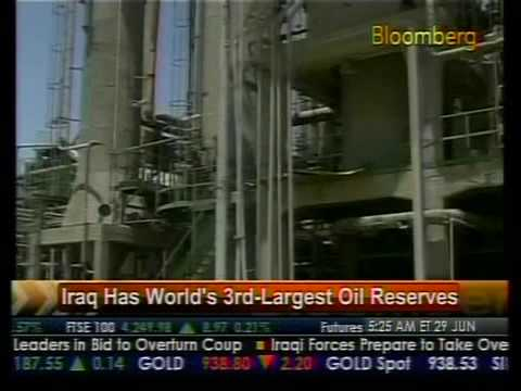 Iraq Has World's 3rd-Largest Oil Reserves - Bloomberg