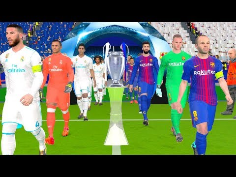 UEFA Champions League Final 2018 - Barcelona vs Real Madrid