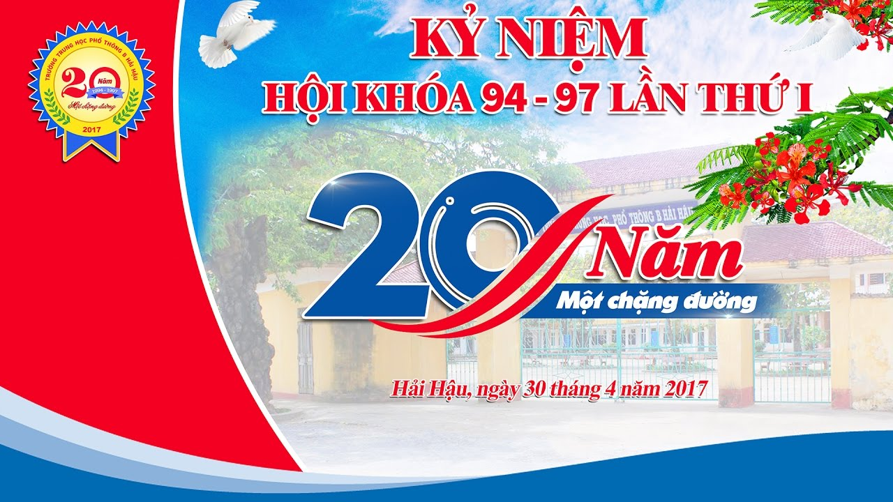 Image result for ky niem 20 nam ra truong