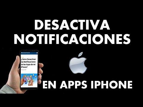 ¿Cómo Desactivar las Notificaciones de las Apps de mi iPhone?