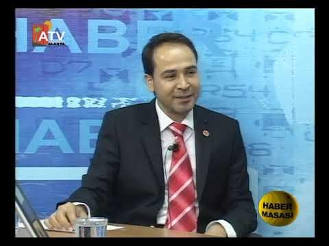 Ahmet Tunç ile Haber Masası | Konuk Tümsiad Alanya Şubesi Başkanı Yakup Gök