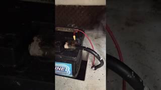 Princess 286 Batterie qui fume