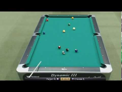 Сталев(Stalev) -vs.- Niels Feijen Semifinal Kremlin Cup 2014 10 ball