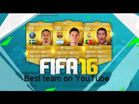 Download FIFA16   Ultimate Team-Najlepszy skład na Polskim You Tube