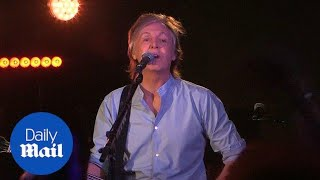 Paul McCartney returns to legendary Cavern Club for surprise gig