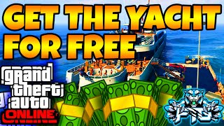 GTA 5 Online: How To Get the Yacht For FREE 100% WORKING (Tutorial) GTA V SOLO MONEY GLITCH