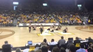 Appalachian State University Elite Dance Team Halftime Toxic