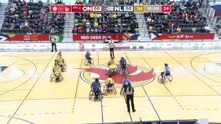 2019 CWG - Wheelchair Basketball - Game 7 - ON vs NL
