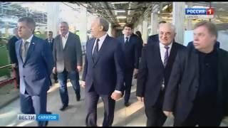 Губернатор обсудил перспективы развития саратовского радиоприборного завода