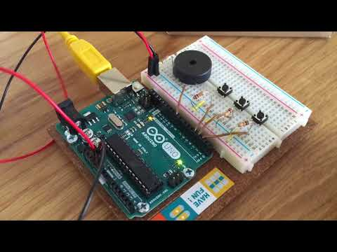 Christmas songs with an Arduino Uno and piezo buzzer