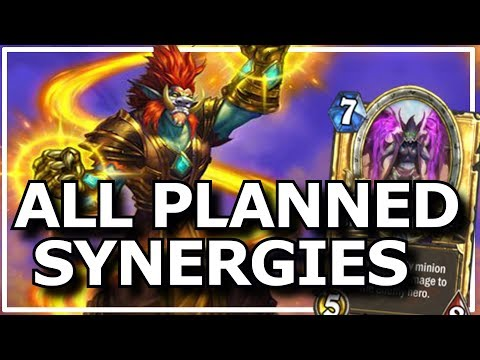 Hearthstone - Best of All Planned Synergies