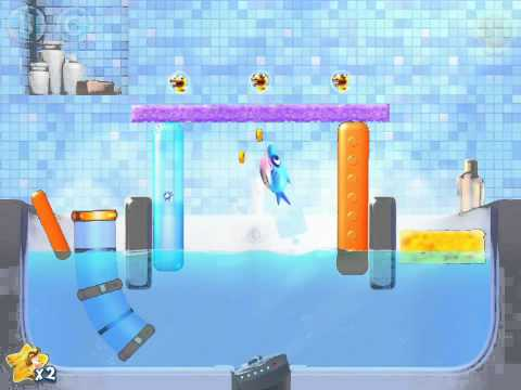 ‪Shark Dash level 1-24 Home (World 1) Walkthrough Lösungen 3 stars Samsung Android IPad iPhone