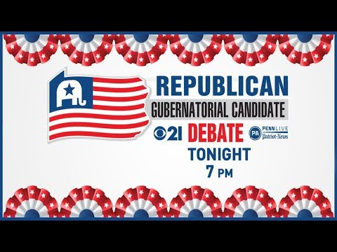 LIVE: The PennLive/CBS21 Republican governors debate.