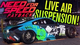 NEED FOR SPEED PAYBACK | AIR SUSPENSION GAMEPLAY, DISABLE CRASH CAMS & NO FREE-ROAM COPS?!