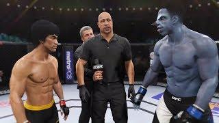 Bruce Lee vs. Raven (EA Sports UFC 2) - CPU vs. CPU
