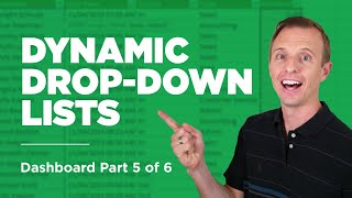 Dynamic Drop-down Lists Dashboard Part 5 of 6