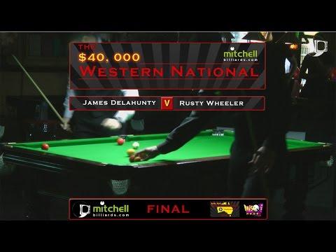 James Delahunty v Rusty Wheeler | FINAL | Mitchell Billiards Western National 2016