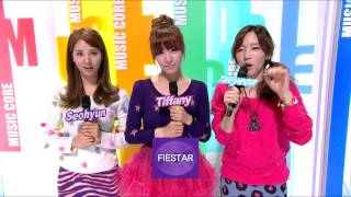 Opening, 오프닝, Music Core 20121006